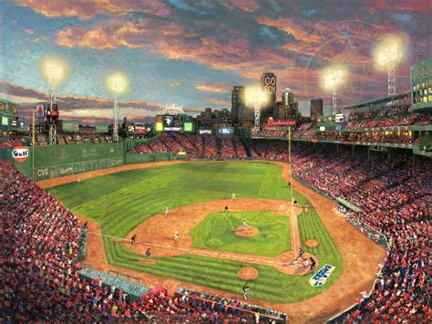Fenway Park™ – Limited Edition Art | The Thomas Kinkade ...