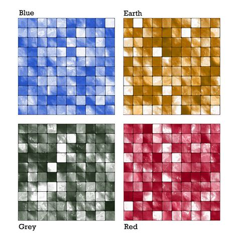 Mosaic Tile Stickers By Spin Collective