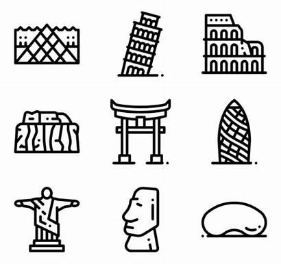 Landmarks Icons Village Monuments