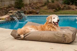 outdoor dog beds with canopy elevated dog bed with pvc With small outdoor dog bed