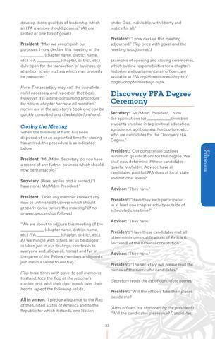 official ffa manual english  national ffa organization