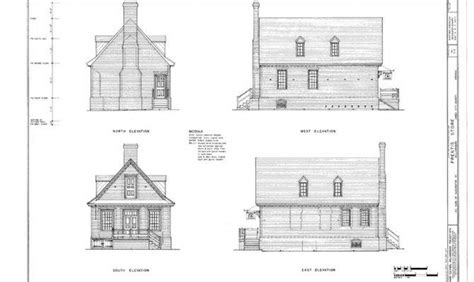 colonial williamsburg brick cottage traditional detailed home plans house plans