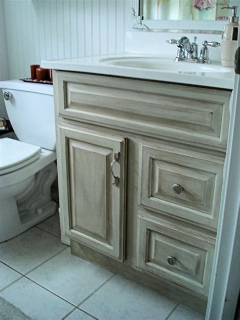 How To Refinish Bathroom Cabinets With Paint by 7 Best Distressed Cabinets Images On Bathroom