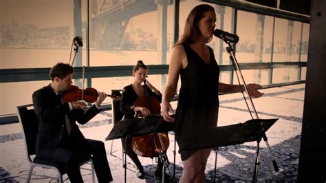 Lovesong Cover Adele/the Cure Cello Violin Singer Wedding