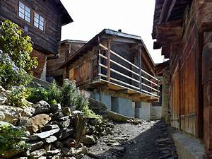 Rustic Residence Maison Cambolin Located in Albinen ...  Rustic