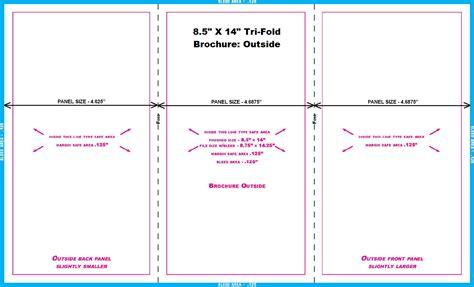 8 Panel Brochure Template 85 X 11 Gate Fold Tri 8 5 X 14 Brochure Template Arts Arts