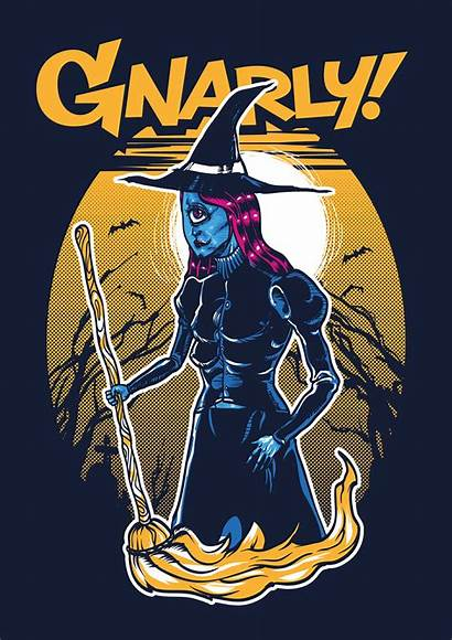 Gnarly Clothing Behance Halloween Promotional Posters