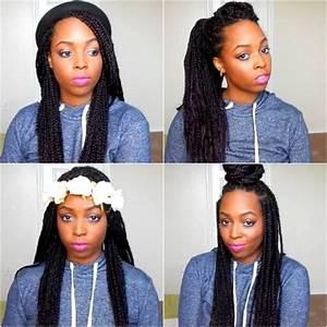 cute hairstyles for box braids HairStyles