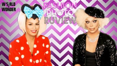 rupauls drag race fashion photo ruview  raja