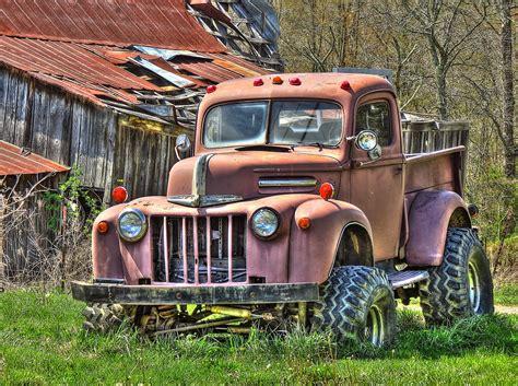 Old Ford Trucks Wallpaper