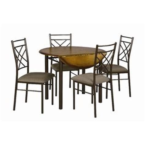 Kmart Cing Table And Chairs by Essential Home Santiago 5 Pc Drop Leaf Dining Set Home