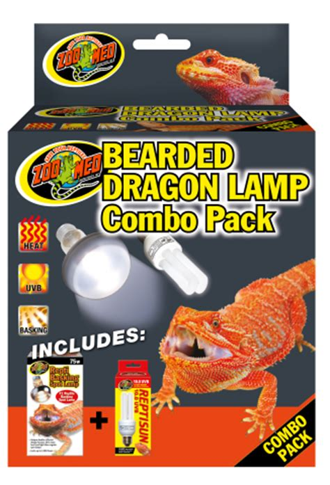 bearded dragon heat l wattage zoo med bearded dragon l combo pack for sale