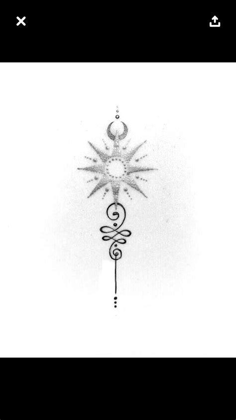 Sun Unalome   Sun tattoos, Unalome tattoo, Spine tattoos