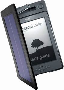 Solar cover for Kindle 4 | Reviews eBook Readers