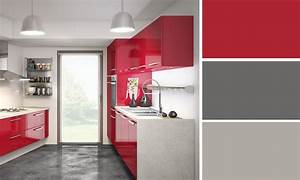 Quelles couleurs se marient avec le rouge for Meuble de salle a manger avec cuisine couleur rouge bordeaux