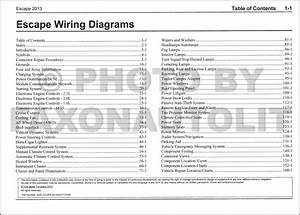 2002 Ford Escape Wiring Diagram Manual Original