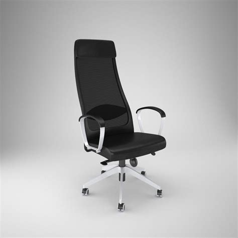 ikea markus office chair 3d obj