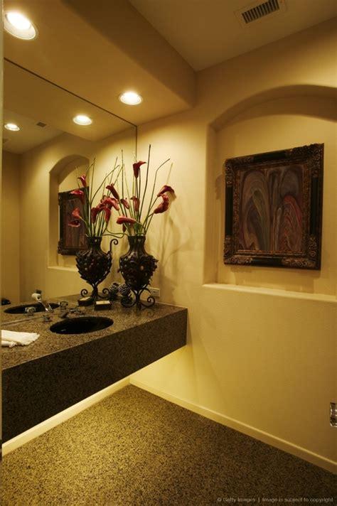 greenery  flower decor ideas  bathrooms digsdigs