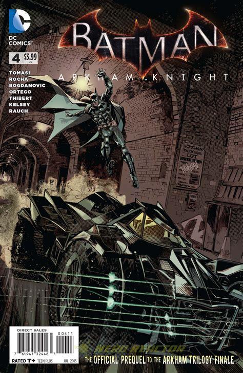 exclusive batman arkham knight  comic preview nerd