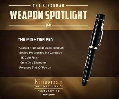 Kingsman Secret Service Pen Spy Wallpaperup Action