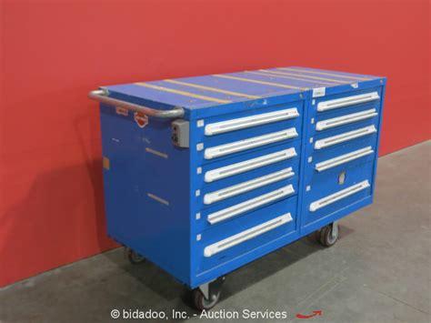 stanley vidmar cabinet locks stanley vidmar 11 drawer tool cabinet shop equipment