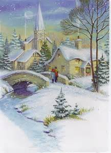Winter Scenes Christmas Cards
