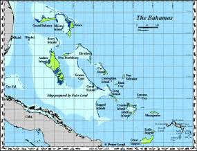 Bahama Islands Map
