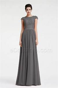 Charcoal gray bridesmaid dresses dress home for Charcoal dresses for weddings