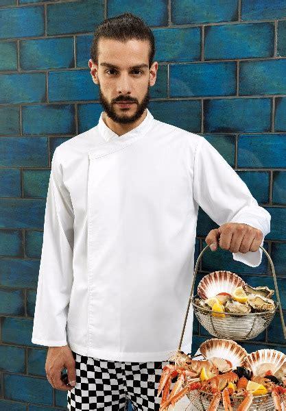 vetement de travail cuisine tunique de cuisine manches longues pr669 vêtement de