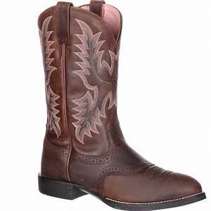 Blundstone Boots Size Chart Ariat Women 39 S Heritage Stockman Roper Western Boot 10001605
