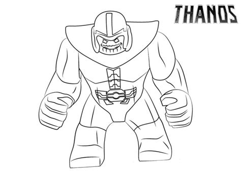 Kleurplaat Fortnite Thanos by Thanos Coloring Pages Best Coloring Pages For