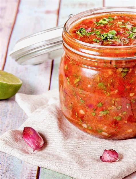 I have used green chilies in this homemade salsa recipe, which have a more mild heat. How to Can Salsa   Homemade Salsa Recipe with Fresh Tomatoes