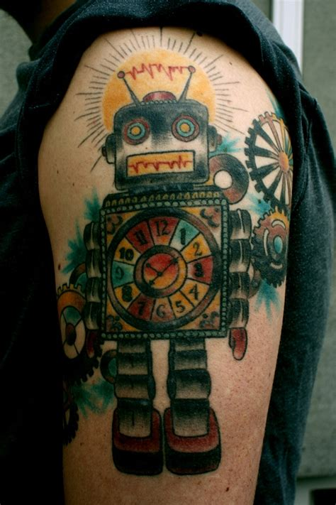 robot tattoos designs ideas  meaning tattoos