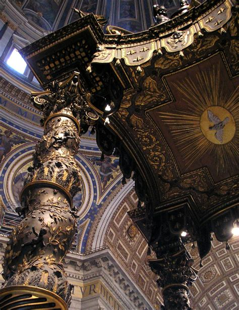 Baldacchino Di San Pietro Bernini by Baldacchino Di San Pietro G L Bernini Foto Immagini