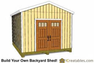 12x16 shed plans gable shed storage shed plans