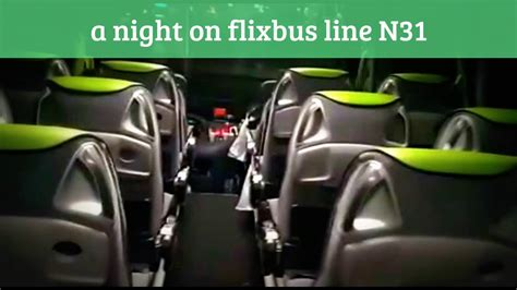 night  flixbus youtube