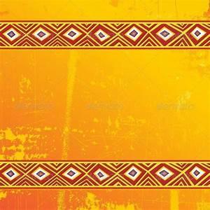 Ethnic Africa Art Grunge Ornamental Pattern by Bluedarkat ...