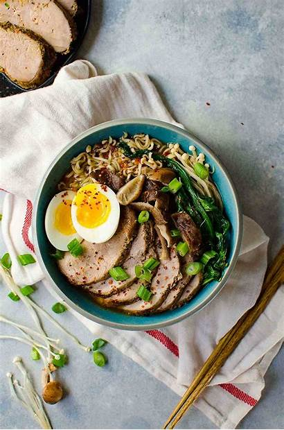 Ramen Pork Easy Noodles Flavor Recipes Sliced