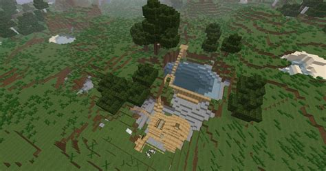 rich iron mineravinemini dam untouched minecraft map