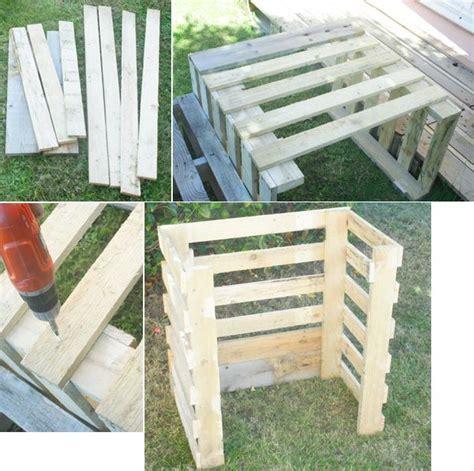 fabriquer composteur palette composteur en palettes composteurs id 233 es cr 233 atives et