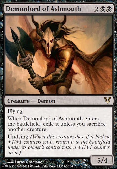 black torpor orb deck demonlord of ashmouth avr mtg card