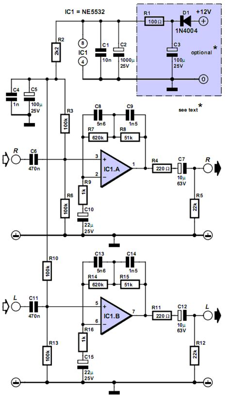 Multimedia Riaa Preamplifier Circuits Projects