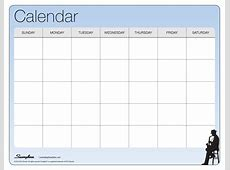 Print One Month Calendar Printable Pages