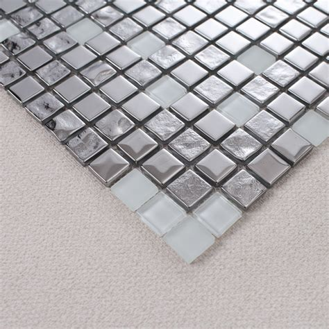 kitchen backsplash stickers glass backsplash wall tiles puzzle mosaic tile 2253