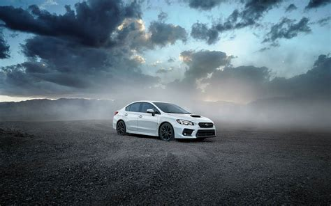 2019 Subaru Wrx Sti White Color 4k Hd Wallpaper Latest
