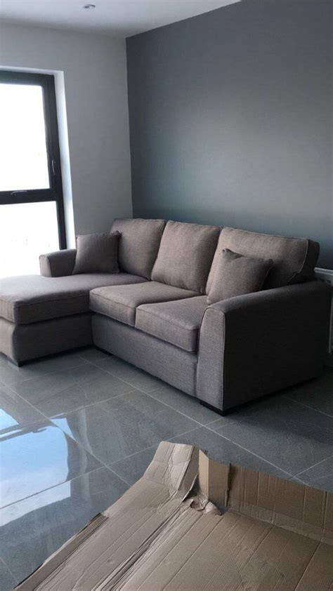 Lovely Day Brand New Sofa by Corner Sofa Slate Grey Brand New Was Delivered 1 Day