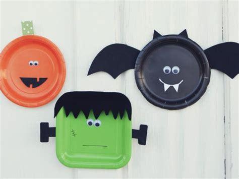 Paper Plate Halloween Crafts