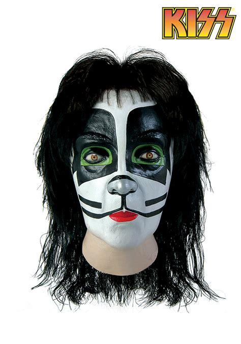 kiss catman full mask adult kiss mask accessory