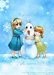 Do you want to build a snowman? by miyaotohime on DeviantArt