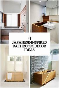 41, Peaceful, Japanese-inspired, Bathroom, D, U00e9cor, Ideas